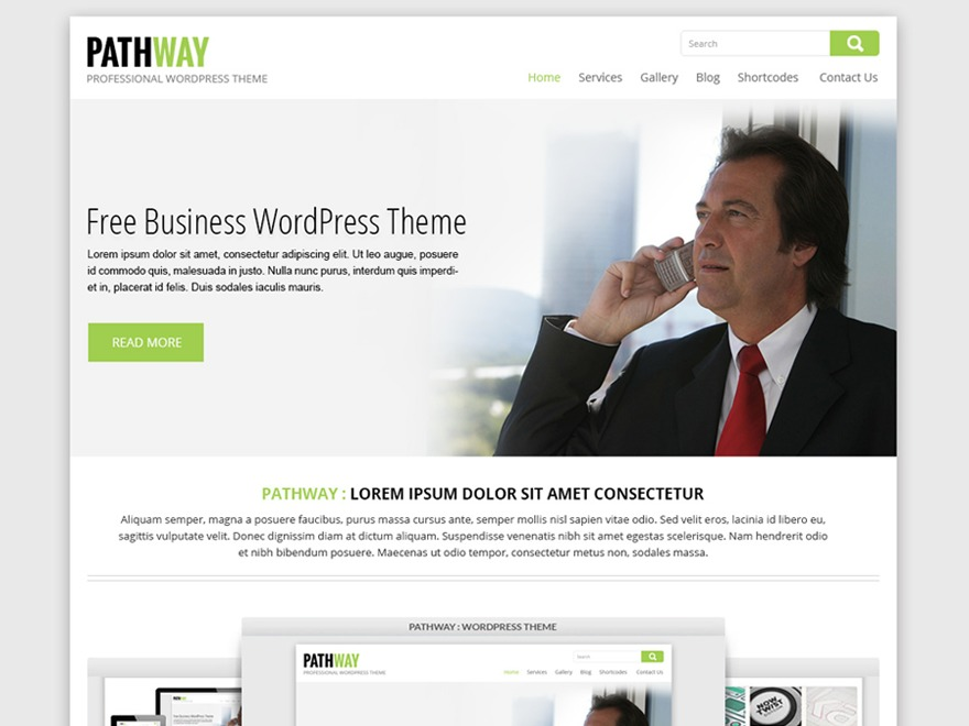 SKT Pathway Pro WordPress blog template