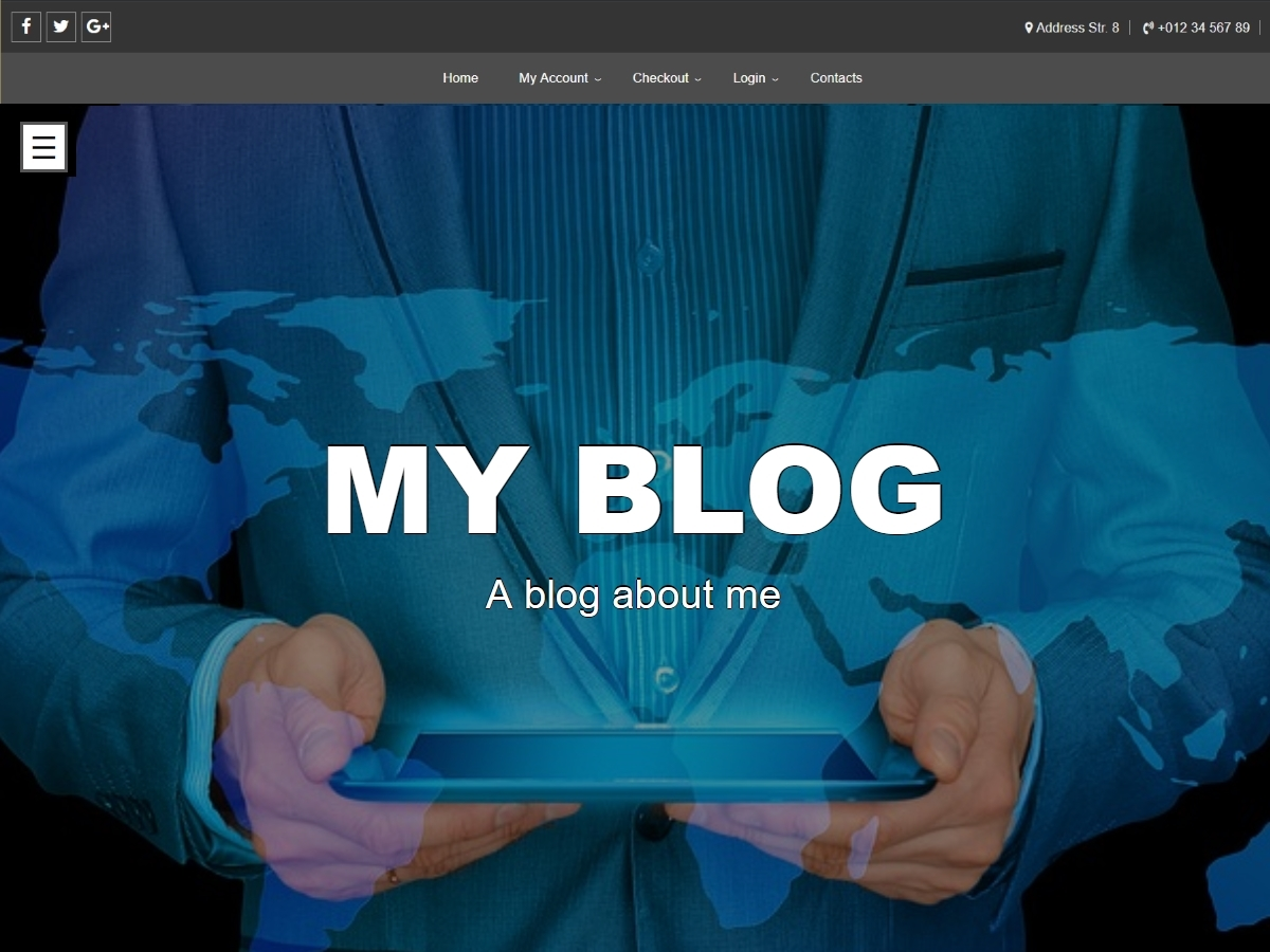 Super personal blog WordPress theme