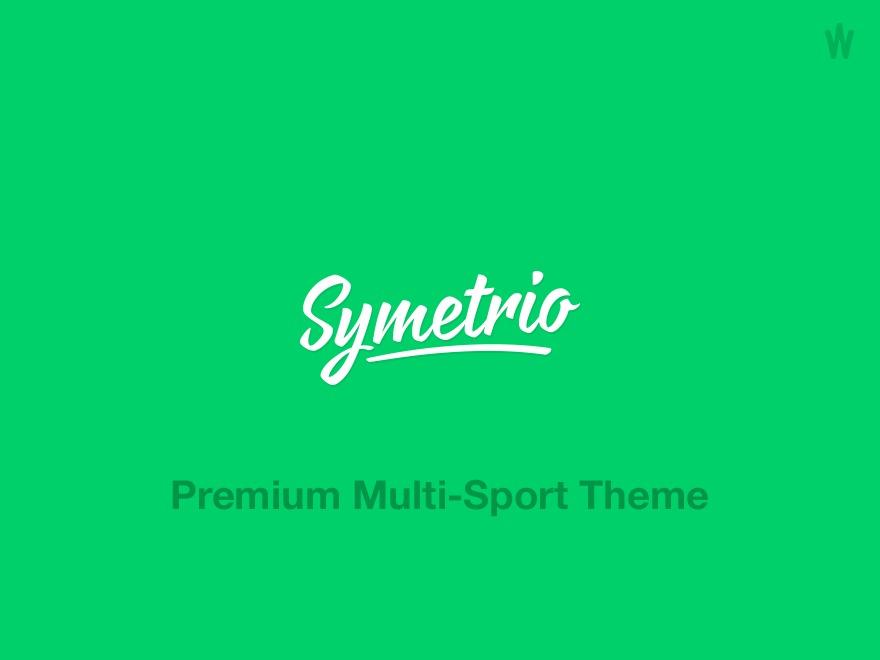 Symetrio theme WordPress