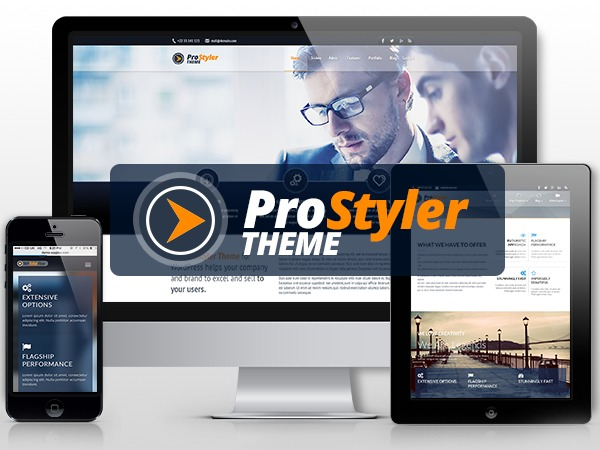 Template WordPress ProStyler Theme