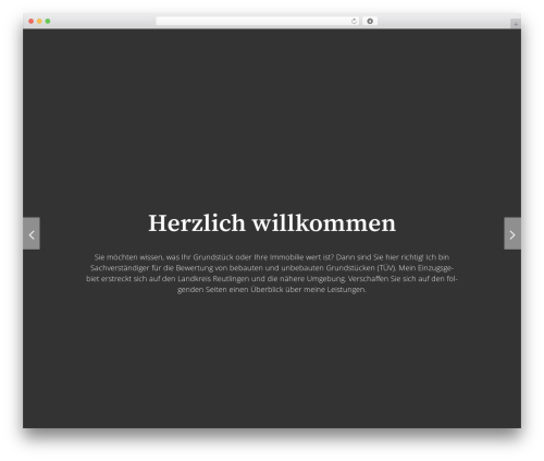 The Huxley best free WordPress theme - wertermittlung-buck.de