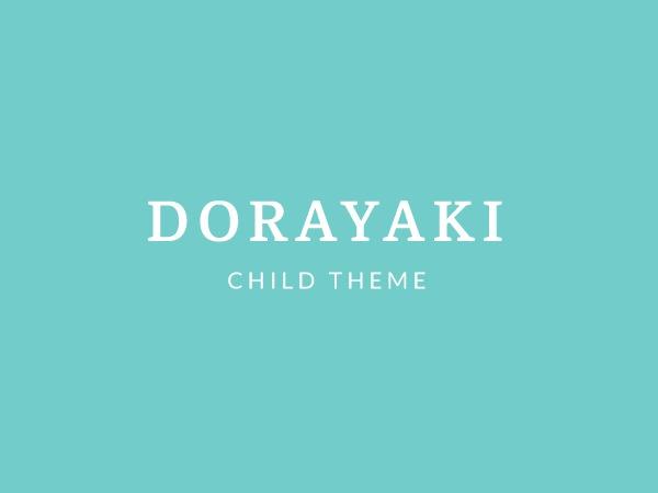 Theme WordPress Dorayaki Child