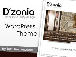 Theme WordPress Dzonia Pro Responsive Theme