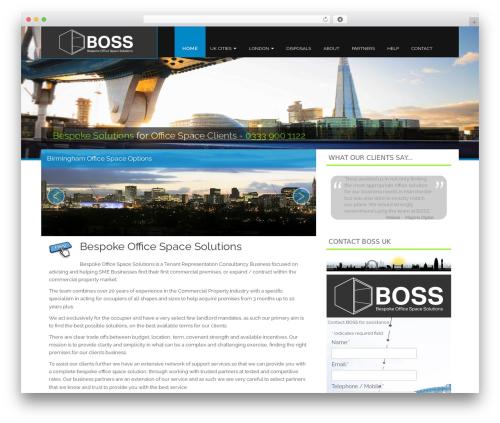 Theme WordPress Fine Pro - whichofficespace.com