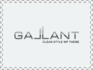 Theme WordPress Gallant