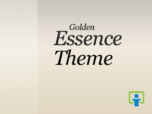 Theme WordPress Golden Essence