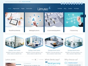 Theme WordPress Limuso