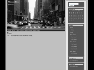 Theme WordPress Manhattan