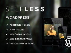 Theme WordPress Selfless