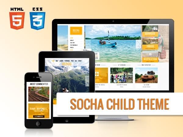 Theme WordPress Socha Child