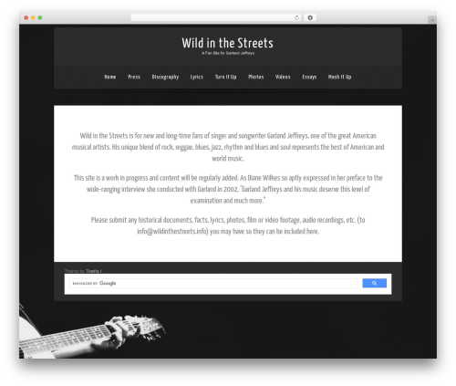 Theme WordPress Theron Lite - wildinthestreets.net