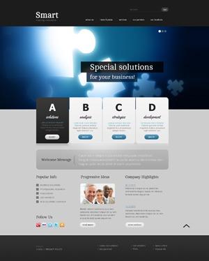 theme1568 WordPress page template