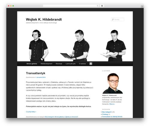 Twenty Eleven best free WordPress theme - wkh24.pl