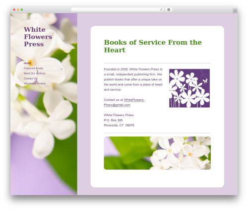 Free WordPress WP GDPR Compliance plugin - whiteflowerspress.com
