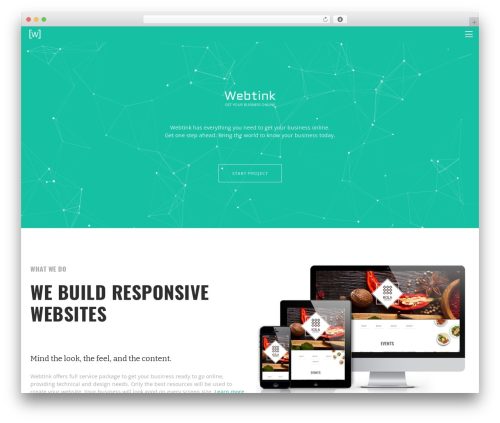 Twenty Thirteen premium WordPress theme - webtink.com.au