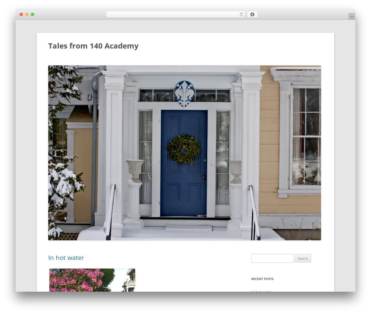 Twenty Twelve WordPress template free download - wendywakeman.com