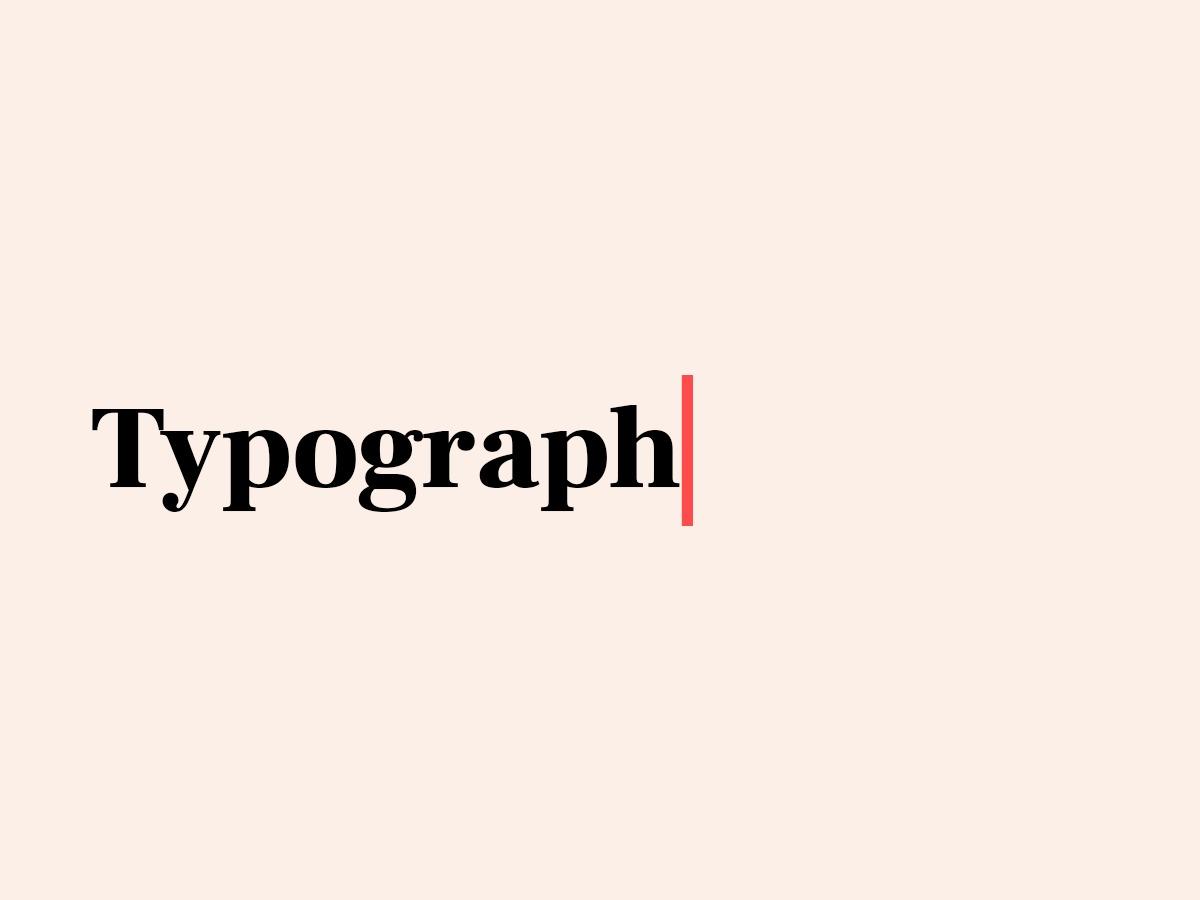 Typograph WordPress theme image