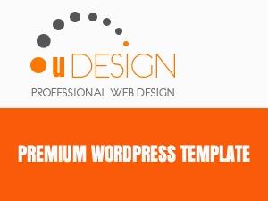 U-Design (shared on wplocker.com) WP theme