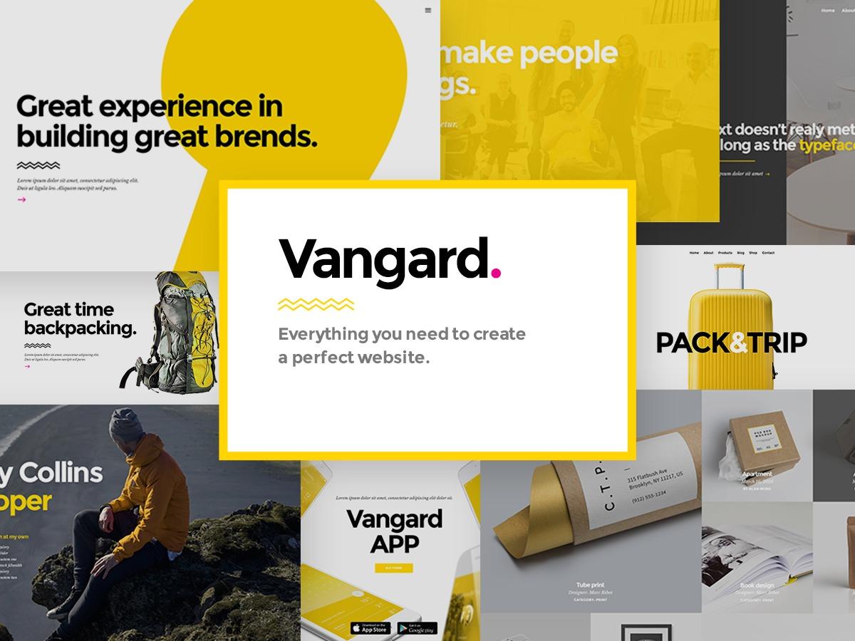 Vangard Child top WordPress theme