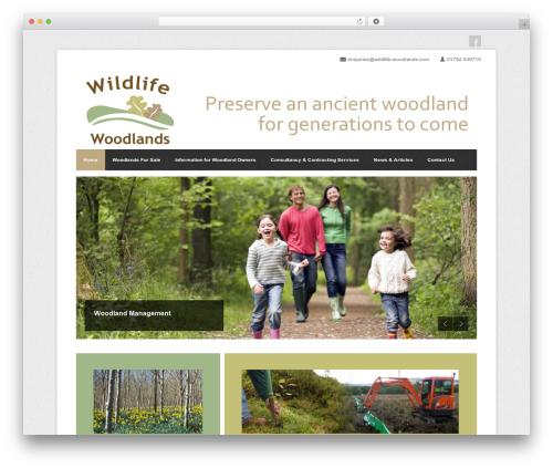 Free WordPress Widgets Controller plugin - wildlife-woodlands.co.uk