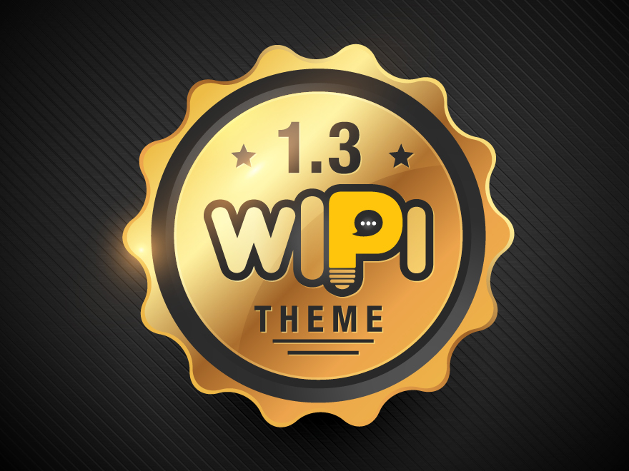 Wipi WordPress theme