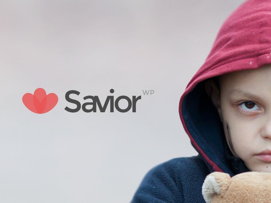 WordPress template Savior