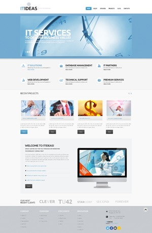 WordPress template theme46787