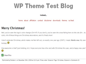 WordPress theme Capricorn