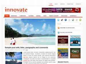WordPress theme Innovate
