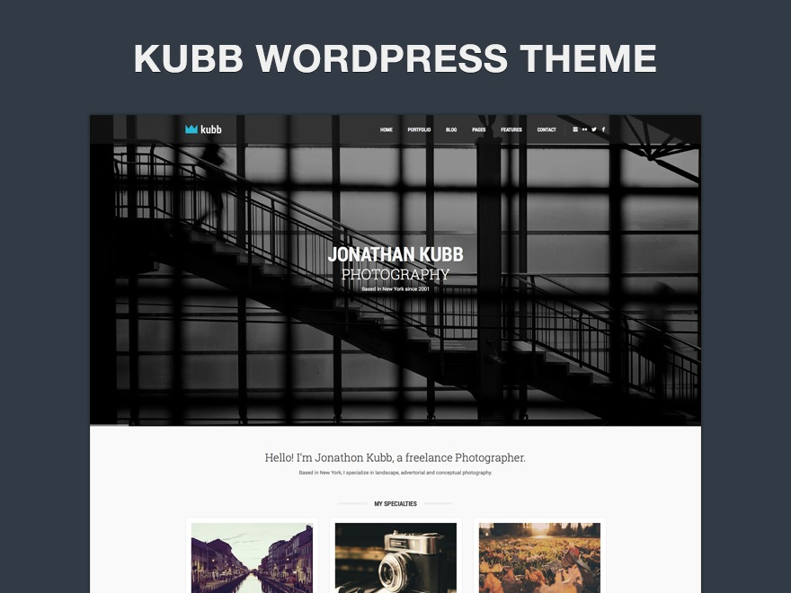 WordPress theme Kubb