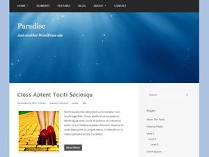 WordPress theme Paradise