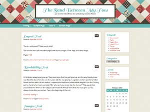 WordPress theme Patchwork