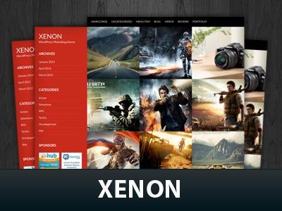 WordPress theme Xenon