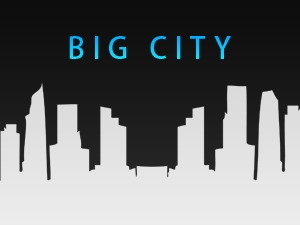 WordPress website template BIG CITY