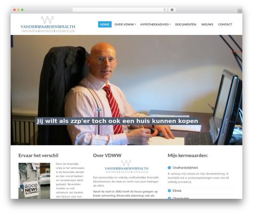 WordPress website template PressCore - waardenwealth.nl