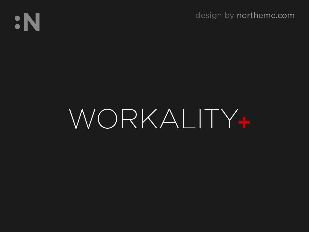 Workality Plus theme WordPress portfolio