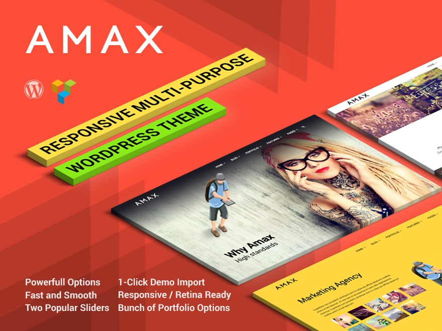 WP template Amax