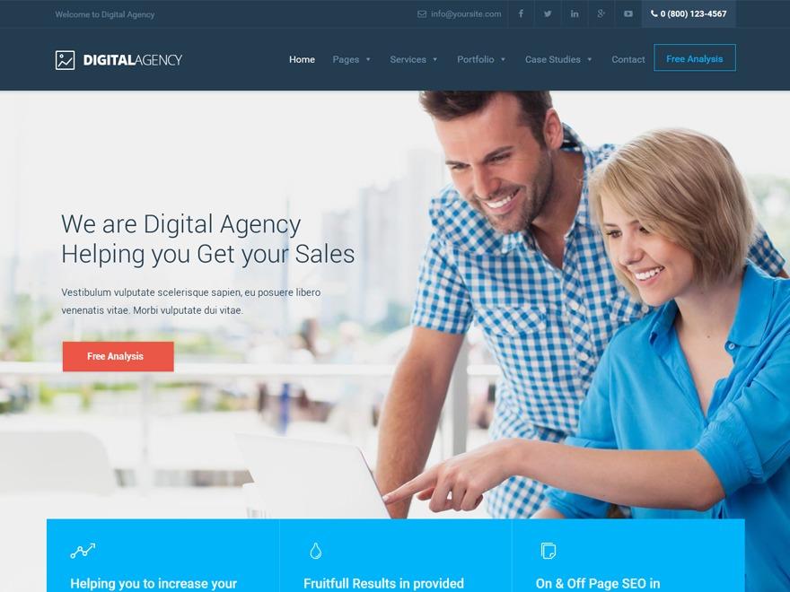 WP theme DigitalAgency