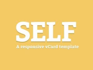 WP theme Self