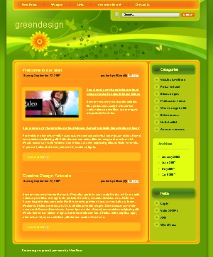 WP theme WordPress theme 747