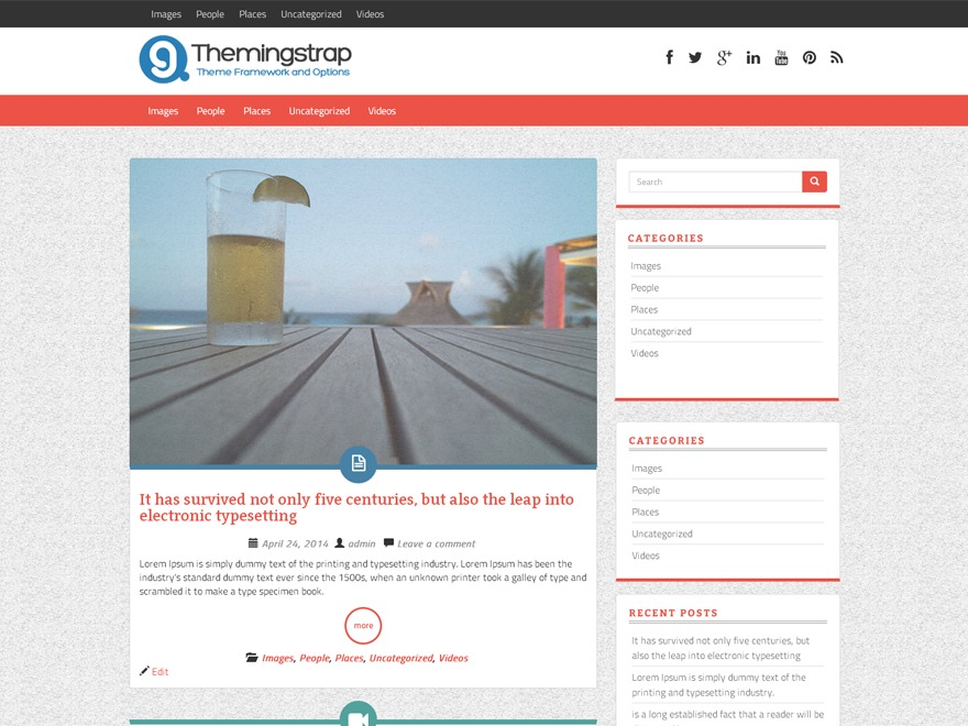 WP ThemingStrap best WordPress template