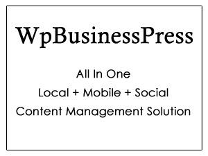 WpBusinessPress company WordPress theme
