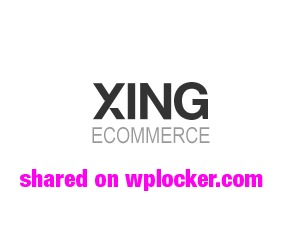 Xing WordPress shopping theme