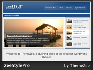 zeeStylePro WordPress theme