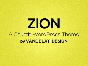 Zion Churches and Non-Profits best WordPress theme