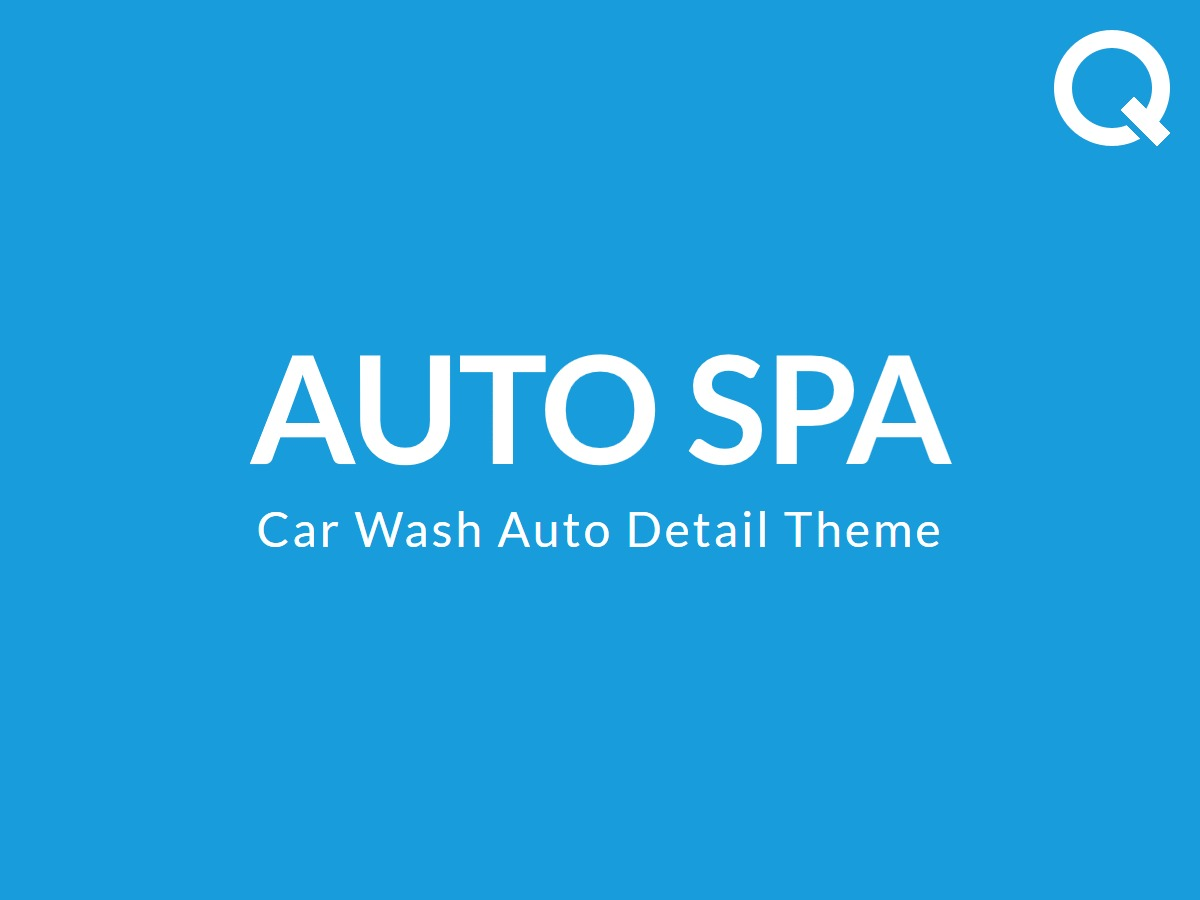 Autospa WordPress shopping theme