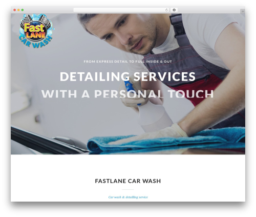 Autospa WordPress theme - fastlanecarwash.ca