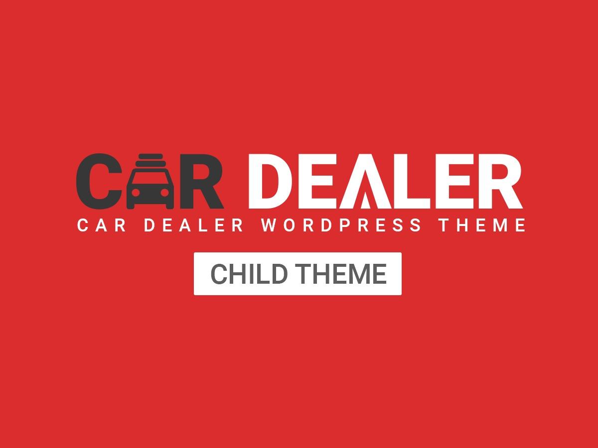 Cardealer Child WordPress theme