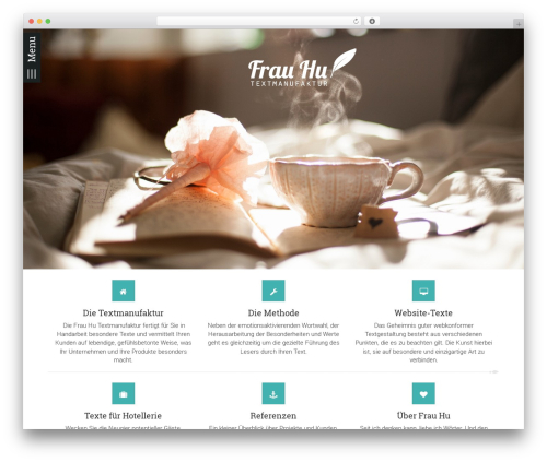 Chitra WordPress page template - frau-hu.de