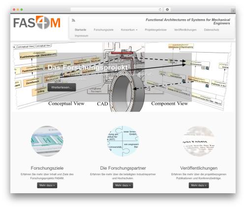 Customizr best free WordPress theme - fasform.de/content